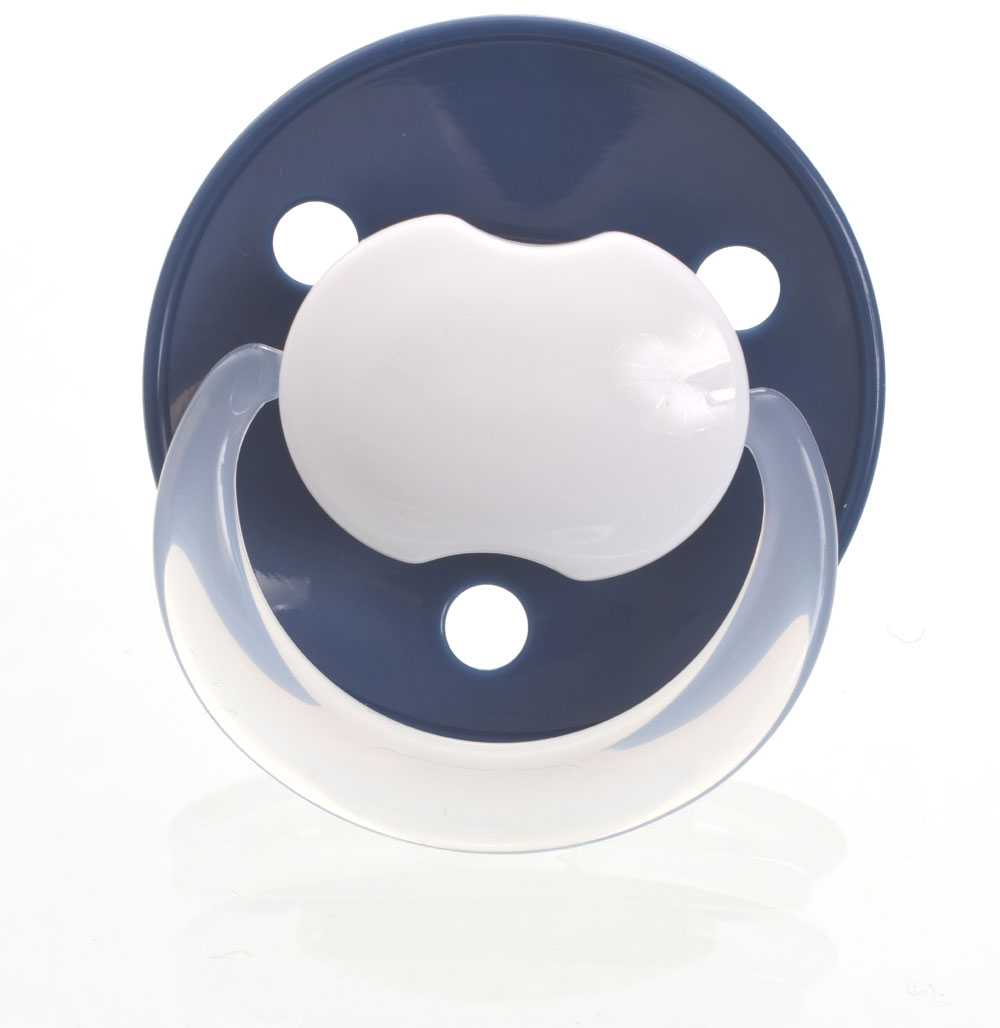 Baby-Nova fopspenen, rond, silicoon, one size