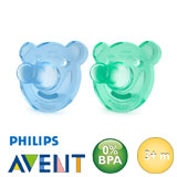 Philips Avent Soothie, rond, silicoon