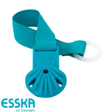 Esska Click dummy holder, turquoise
